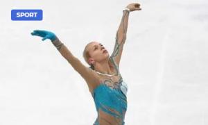 Figure skater Anna Pogorilaya became a mother for the first time